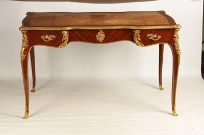 Lot 1062 - A LATE 19TH CENTURY FRENCH KINGWOOD AND ORMOLU...