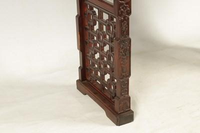 Lot 478 - A 19TH CENTURY CHINESE HUANG HUA LI WOOD ALTAR...