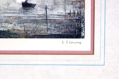 Lot 811 - A.R.R. LAURENCE STEPHEN LOWRY (1887-1976)...