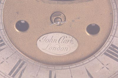 Lot 861 - JOHN. CLARK, LONDON. AN EARLY 18TH CENTURY...