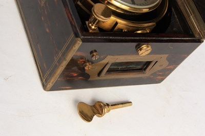 Lot 893 - DENT, LONDON CHRONOMETER MAKER TO THE QUEEN No....