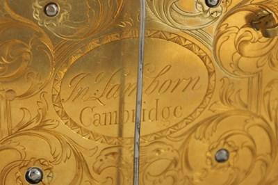 Lot 905 - JOHN LAMBORN, LONDON AND CAMBRIDGE. AN 18TH...